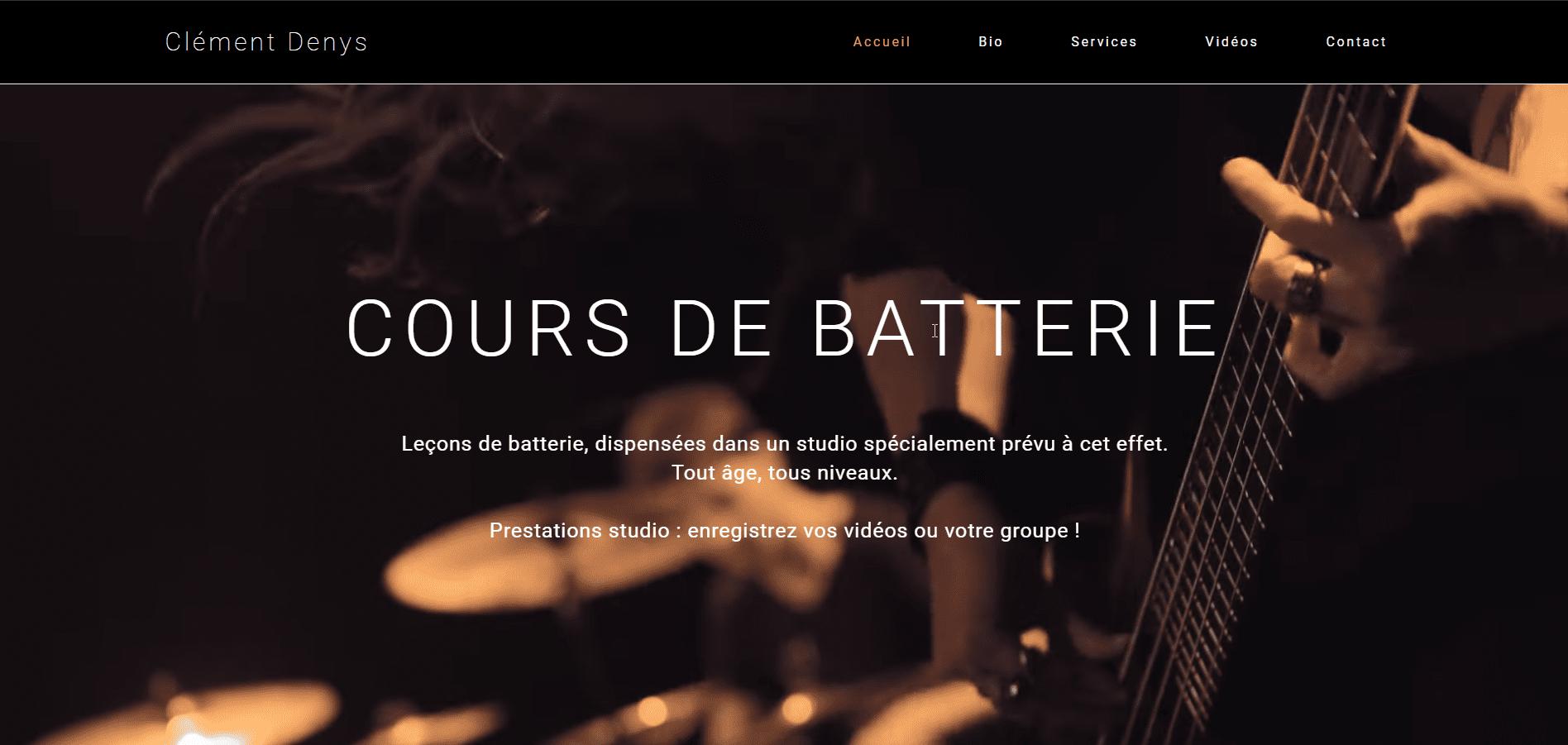 Clement Denys website